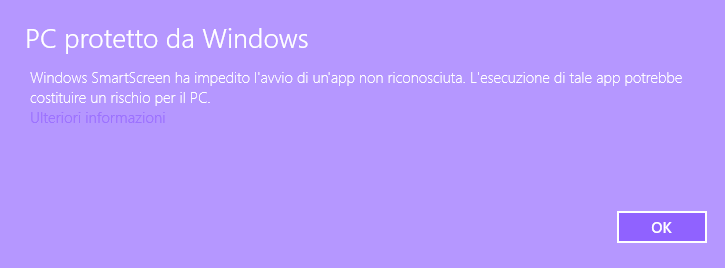 Windows smart screen 1